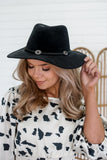 Faux Suede Panama Hat | Stylish & Affordable | UOI Online