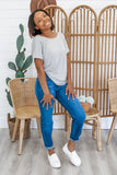 Twist Back Tee | Stylish & Affordable | UOI Online