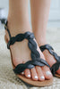 Archer-493 Twisted Sandals - Online Clothing Boutique
