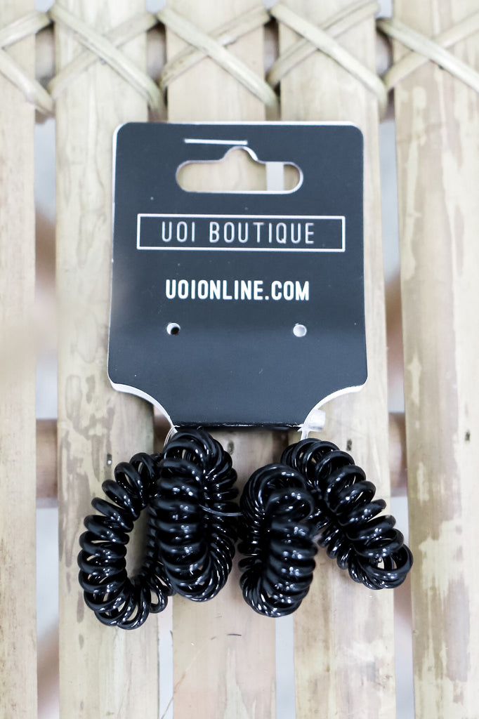 Mini Coil Hair Ties | Stylish & Affordable | UOI Online