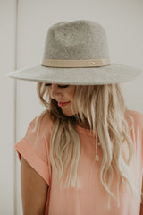 Wide Brim Wool Hat | Stylish & Affordable | UOI Online