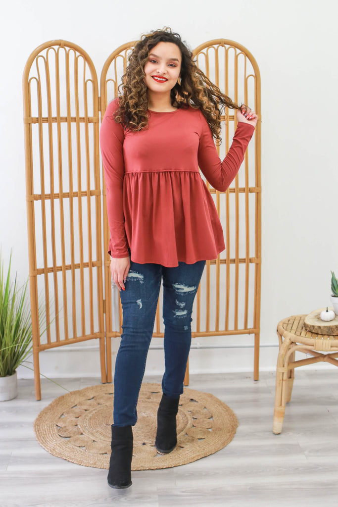 Peplum Top | Stylish & Affordable | UOI Online