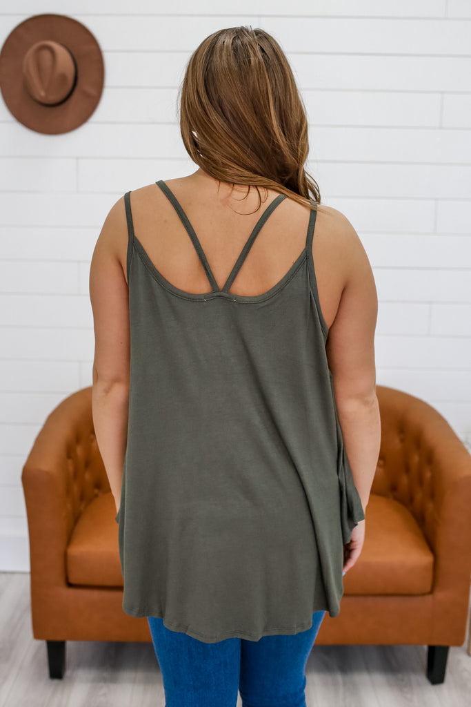 Double Cami Strap Tank | Stylish & Affordable | UOI Online