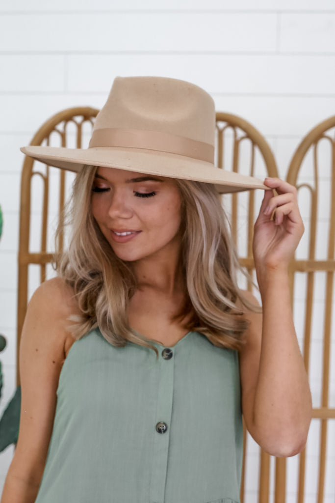 Wool Wide Brim Hat | Stylish & Affordable | UOI Online