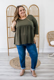 Plus Size Peplum Top | Stylish & Affordable | UOI Online