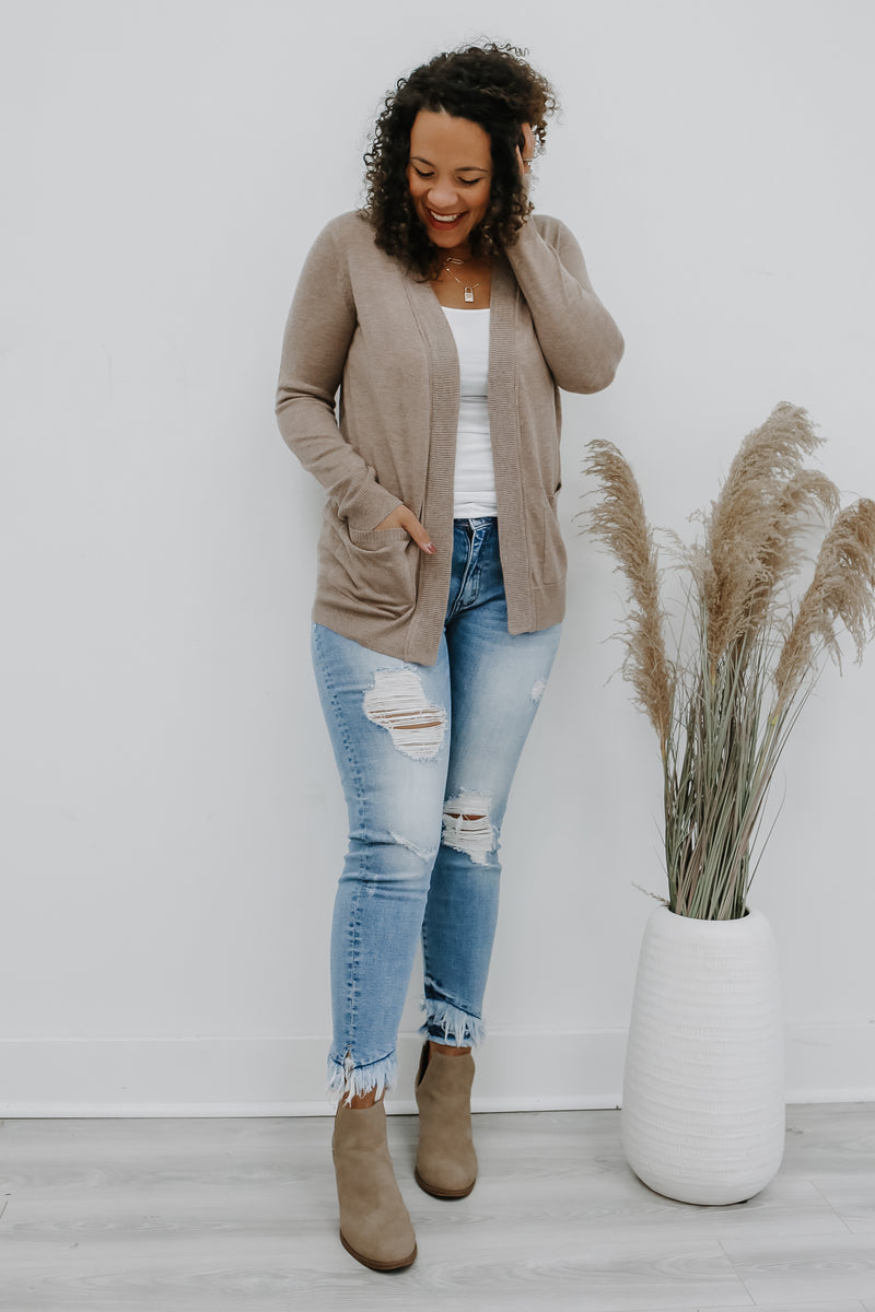 Basic Knit Cardigan | Stylish & Affordable | UOI Online