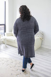 Plus Size Chenille Cardigan - Online Clothing Boutique