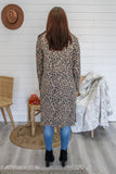 Leopard Print Duster Cardigan | Stylish & Affordable | UOI Online