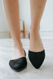 Delena-5 Faux Suede Flats - Online Clothing Boutique