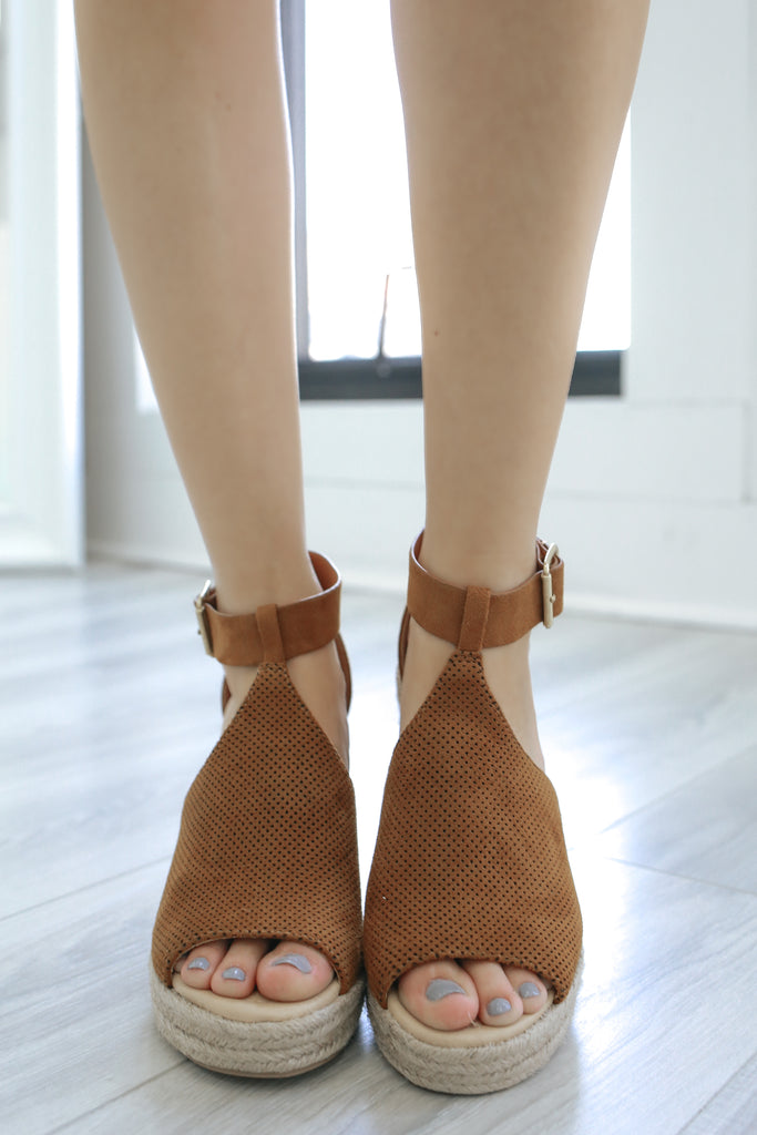 Espadrille Wedges - Online Clothing Boutique