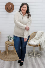 Plus Size Sherpa Sweatshirt | Stylish & Affordable | UOI Online