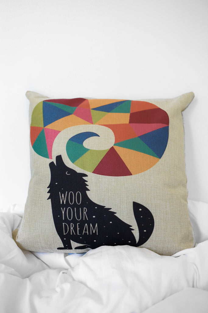 Wolf Pillow - Online Clothing Boutique