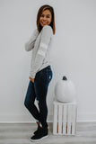 Long Sleeve Brushed Knit Reglan | Stylish & Affordable | UOI Online