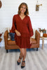Bell Sleeve Embroidered Dress | Stylish & Affordable | UOI Online