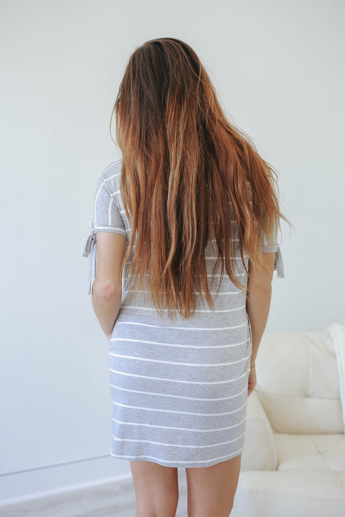 Striped Dress - Online Clothing Boutique