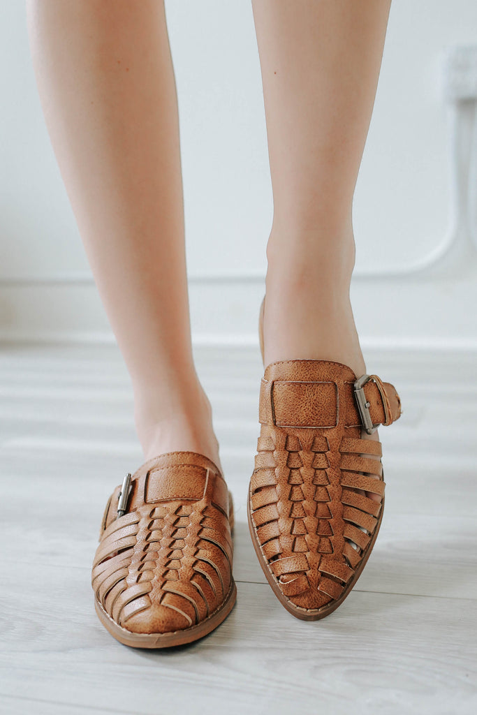 Billile Woven Flats - Online Clothing Boutique