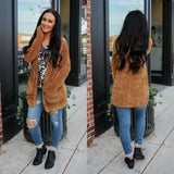 Chenille Chunky Knit Cardigan - Online Clothing Boutique