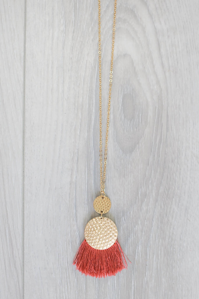Tassel Necklace - Online Clothing Boutique