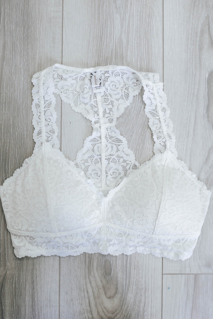 Lace Bralette - Online Clothing Boutique