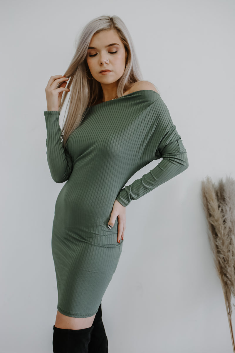 Long Sleeve Bodycon Mini Dress | Stylish & Affordable | UOI Online