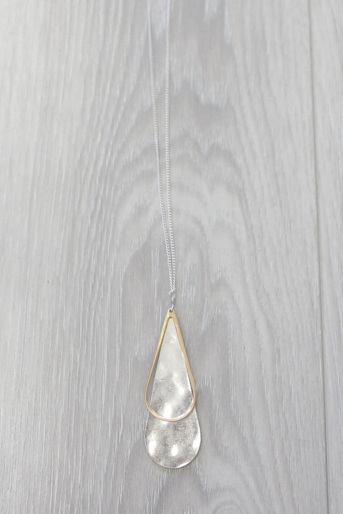 Long Line Pendant Necklace - Online Clothing Boutique