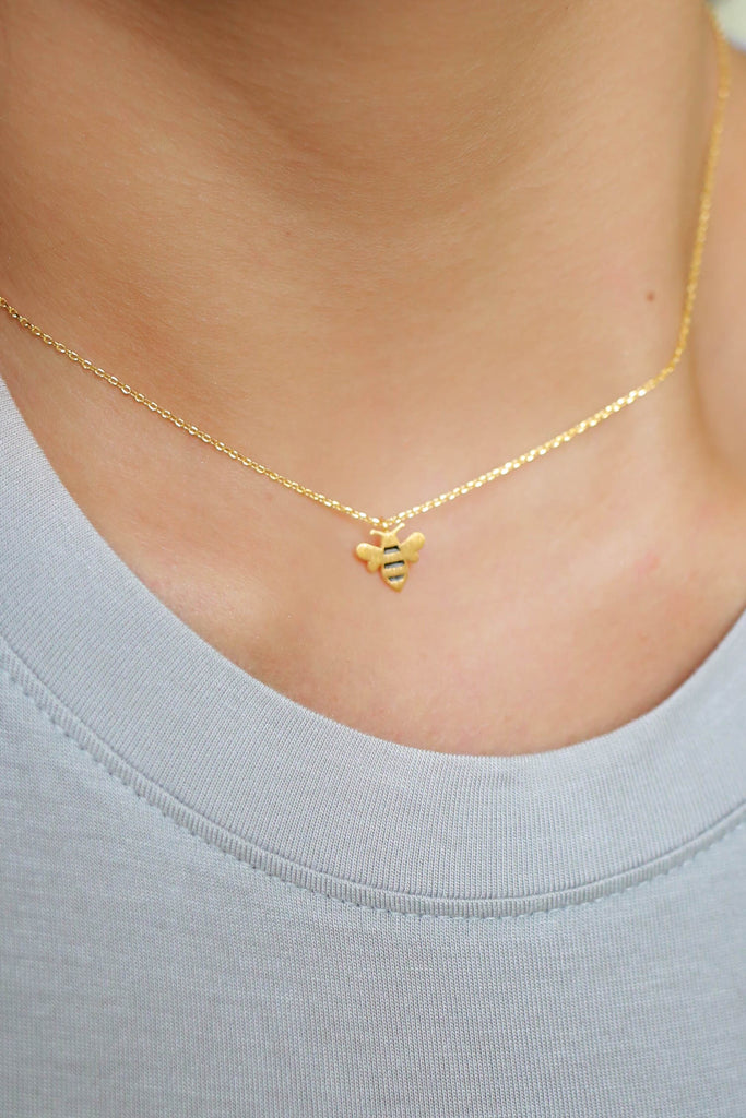Bumblebee Necklace - Online Clothing Boutique
