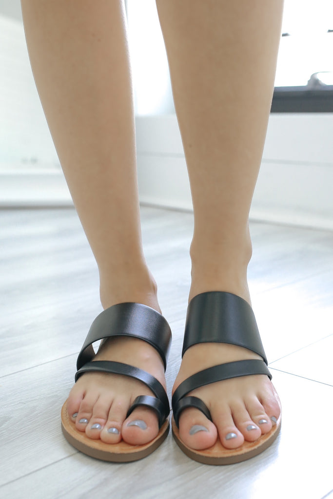 JOAN-S Strappy Sandals - Online Clothing Boutique