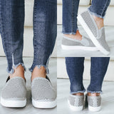 ALPACA-G Slip-On Sneakers - Online Clothing Boutique
