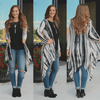 Tie Dye Long Sleeve Lightweight Hooded Cardigan