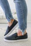 Traveler-1 Faux Leather Slip-On Sneakers - Online Clothing Boutique