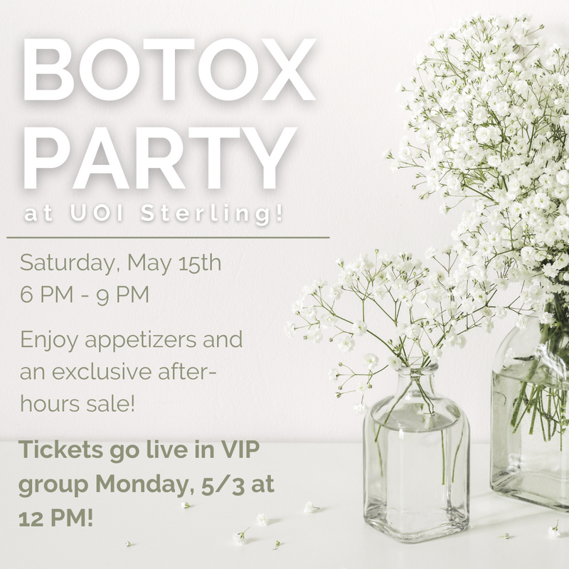 UOI Botox Party Tickets