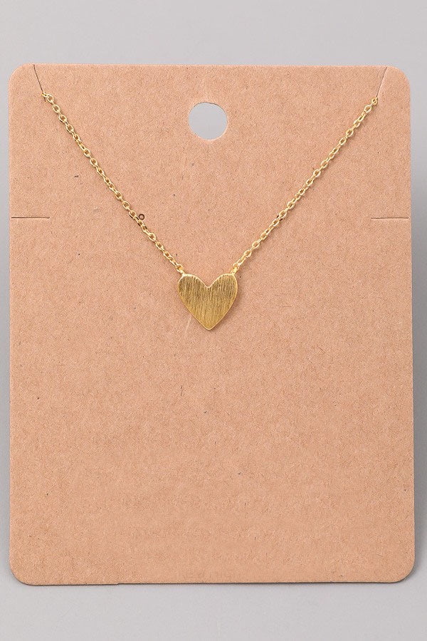 Heart Necklace - Online Clothing Boutique