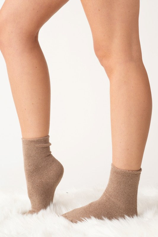 Terry Cloth Socks - Online Clothing Boutique