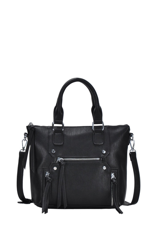 Faux Leather Adjustable Bag - Online Clothing Boutique