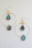 Abalone Earrings - Online Clothing Boutique