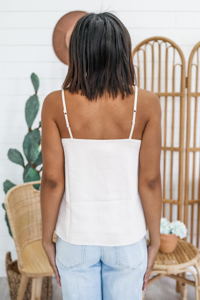 Fully Lined Satin Tank | Stylish & Affordable | UOI Online