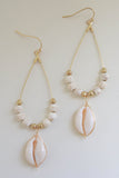 Shell Earrings - Online Clothing Boutique