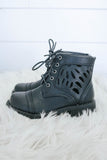 Girls Combat Boots - Online Clothing Boutique