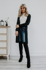 Lightweight Long Sleeve Knit Cardigan | Stylish & Affordable | UOI Online