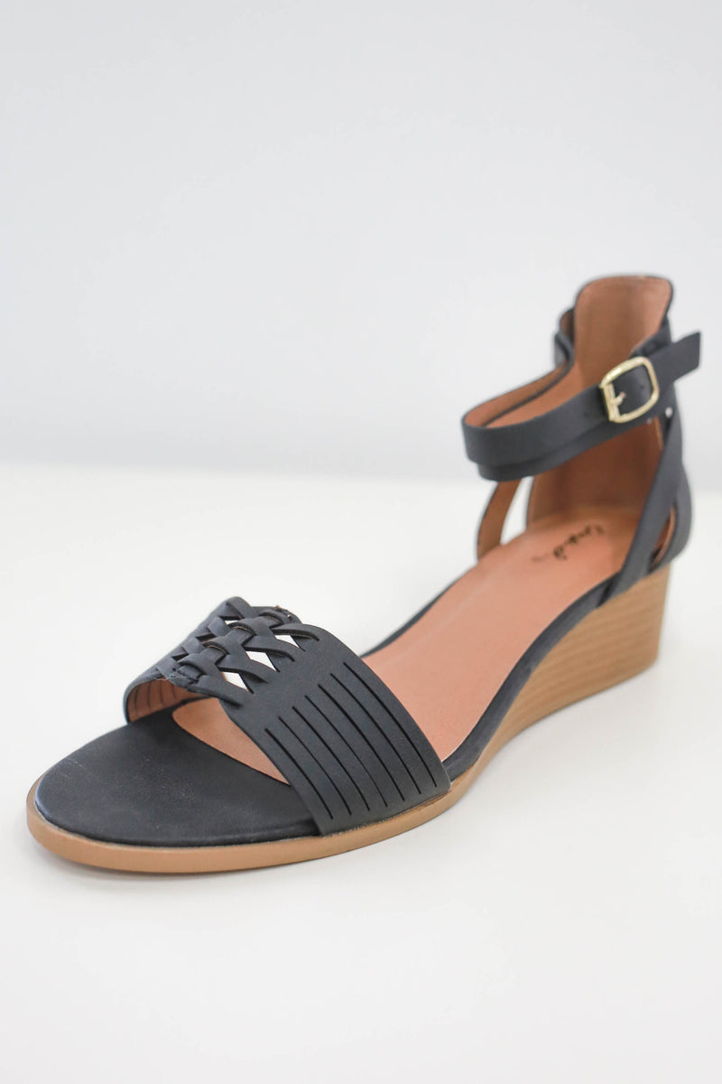 LIAM-04 Wedges - Online Clothing Boutique