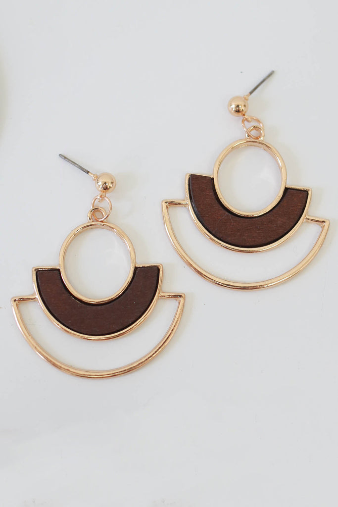 Geometric Earrings - Online Clothing Boutique