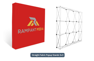 Straight Pop Up Backdrops