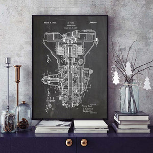 Henry Ford Transmission Patent 1927