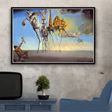 Salvador Dali Prints on Canvas
