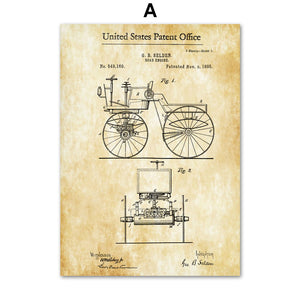 Horseless Carriage Patent 1895