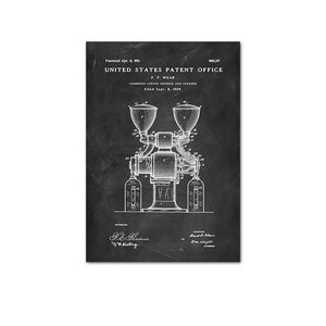 Coffee Grinder Patent 1909