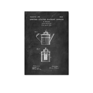 Coffee Percolator Patent 1893