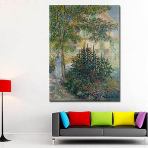 Claude Monet Digital Print on Canvas