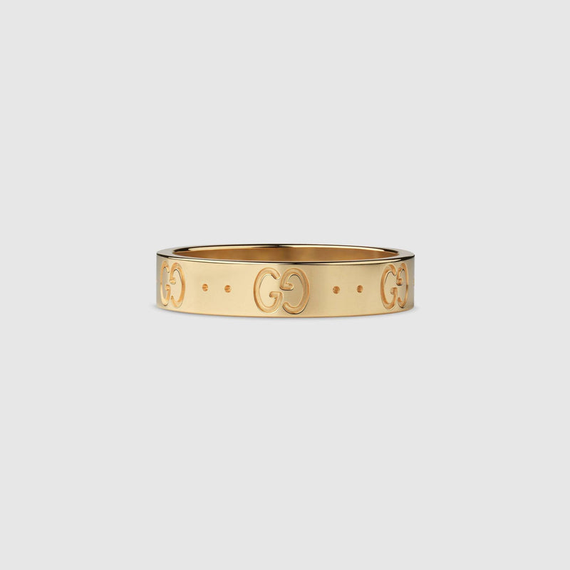 Gucci Icon Ring in Yellow Gold