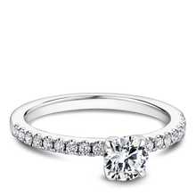 Load image into Gallery viewer, One Love Diamond Engagement Ring In 14KW
